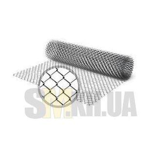 Сетка рабица (1 м) оцинкованная (клетка 55 мм)