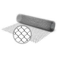 Сетка рабица (1,5 м) оцинкованная (клетка 55 мм)