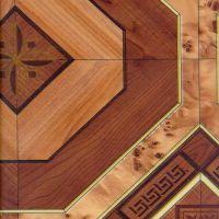 Линолеум Линопласт Стандарт № 12 Ромб темный бытовой (м2)