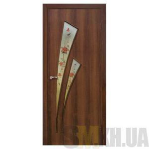 Двери межкомнатные ОМиС «Триумф» (полотно со стеклом с фотопечатью и фьюзингом)