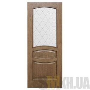 Двери межкомнатные ОМиС «Венеция Классик» (полотно со стеклом с фотопечатью)