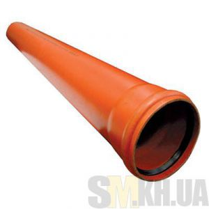 Труба для наружной канализации 100 мм (1 м) 3,2 мм