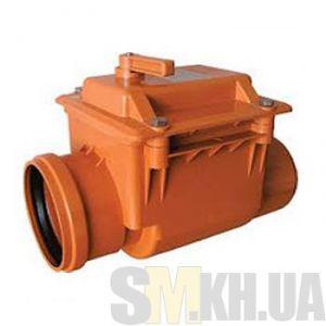 Клапан обратный для канализации (100 мм)