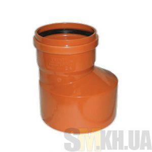 Переход (редукция) канализационный наружный 100 мм на 160 мм