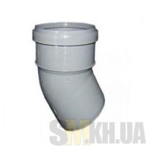 Уголок 100 мм (колено) канализационный (30 градусов)