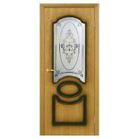 Двери межкомнатные ОМиС «Виктория» (полотно со стеклом с фотопечатью)