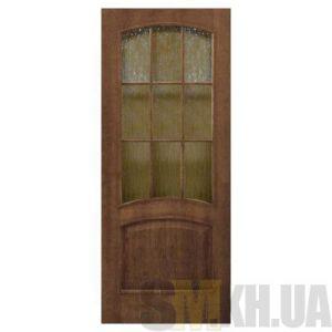 Двери межкомнатные ОМиС «Капри» (под остекление, кора бронза)