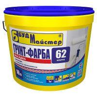 Грунтующая краска акриловая улучшенная Будмайстер КРИТТЯ-62 (10 л)