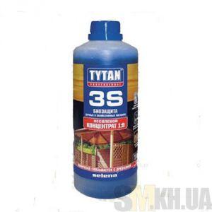 Деревозащитное средство Титан (Tytan 3S) зеленый 1 кг (биозащита)
