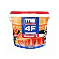 Деревозащитное средство Титан (Tytan 4F) красный 1 кг (огне-биозащита)