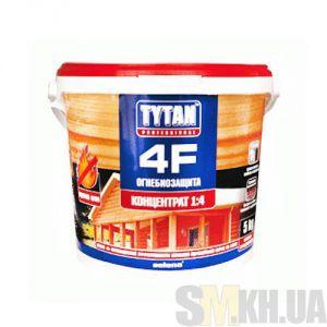 Деревозащитное средство Титан (Tytan 4F) красный 5 кг (огне-биозащита)