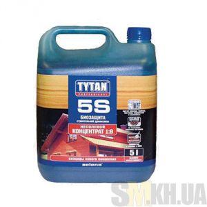 Деревозащитное средство Титан (Tytan 5S) зеленый 5 кг (макси-биозащита)
