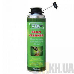 Очиститель монтажной пены Грин ВИК (Green VIK) (500 мл)