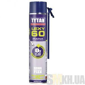 Пена монтажная Титан 750 мл (бытовая) (выход 60 л)