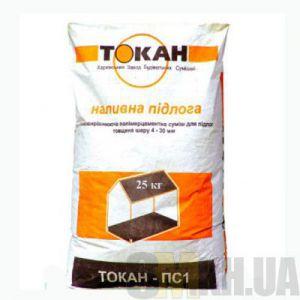Самовыравнивающаяся смесь для пола Токан-ПС-1 (25 кг)