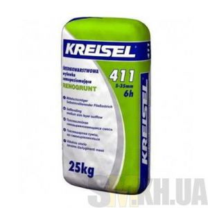 Самовыравнивающаяся смесь Крайзель 411 (Kreisel 411) 5-35 мм (25 кг)