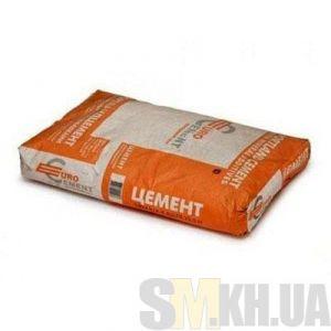 Цемент марка 400 «Евроцемент» (45 кг) (фасовка)