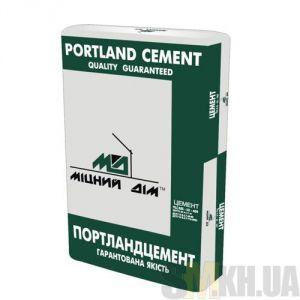 Цемент ПЦ 2/Б-Ш марка 400 «Міцний дім» (50 кг) заводская упаковка