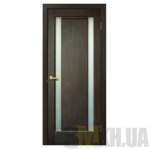 Двери межкомнатные ОМиС «Венера ПВХ» (полотно со стеклом с контурным рисунком)