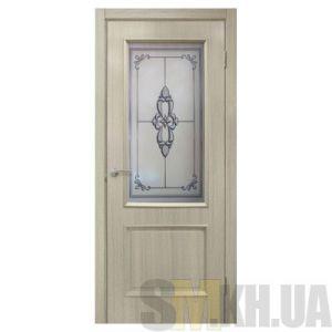 Двери межкомнатные ОМиС «Версаль ПВХ» (полотно со стеклом с фотопечатью)