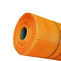 Сетка штукатурная фасадная Будова (Budowa) 160 плотность (м2) оранжевая