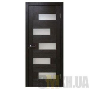 Двери межкомнатные ОМиС «Домино ПВХ» (полотно под остекление, стекло сатин)