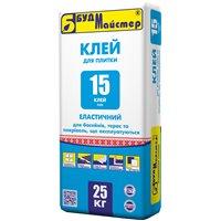 """Клеевая смесь цементная эластичная БудМайстер """"КЛЕЙ - 15"""" (FLEX), 25 кг"""