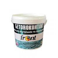 """Грунтовка FRONT (Фронт) """"Бетоноконтакт"""" для внешних и внутренних работ, 1,5 кг"""