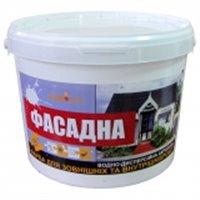 Краска ВД акриловая фасадная Будмисто, 7 кг