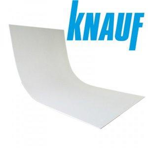 Гипсокартон арочный Кнауф (Knauf) гибкий (2,5 м)