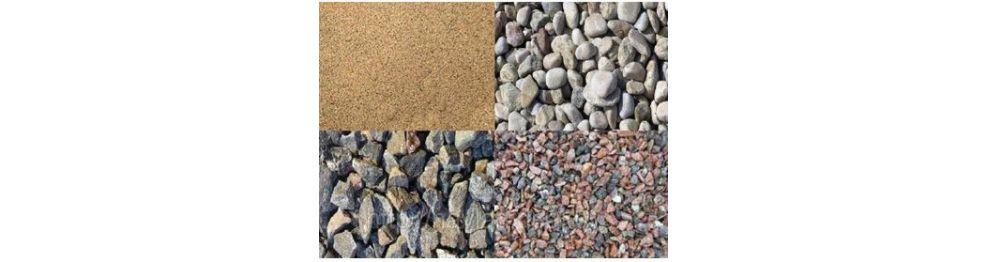 Песок, щебень, керамзит, ЦПС